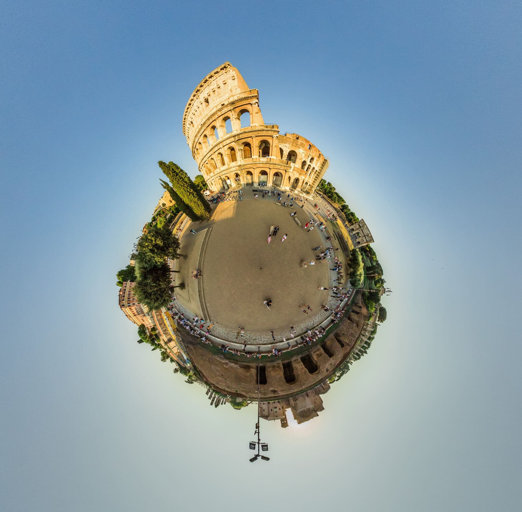 A Tiny World photo of the Colossiumm
